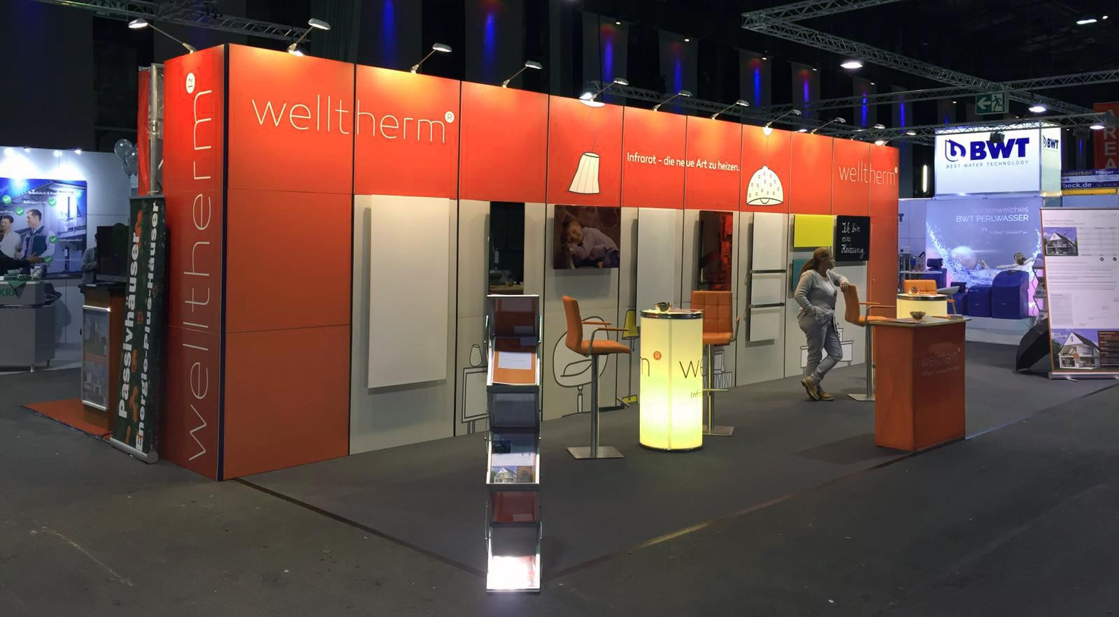 Welltherm Infrarotheizung Messe